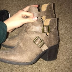 Charlotte Russe healed boots